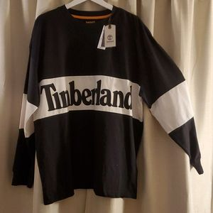 Original Timberland crew neck long sleeve tshirt